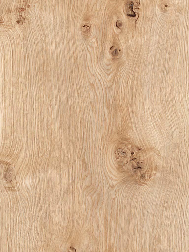 Oak American White Rustic Knotty Veneer