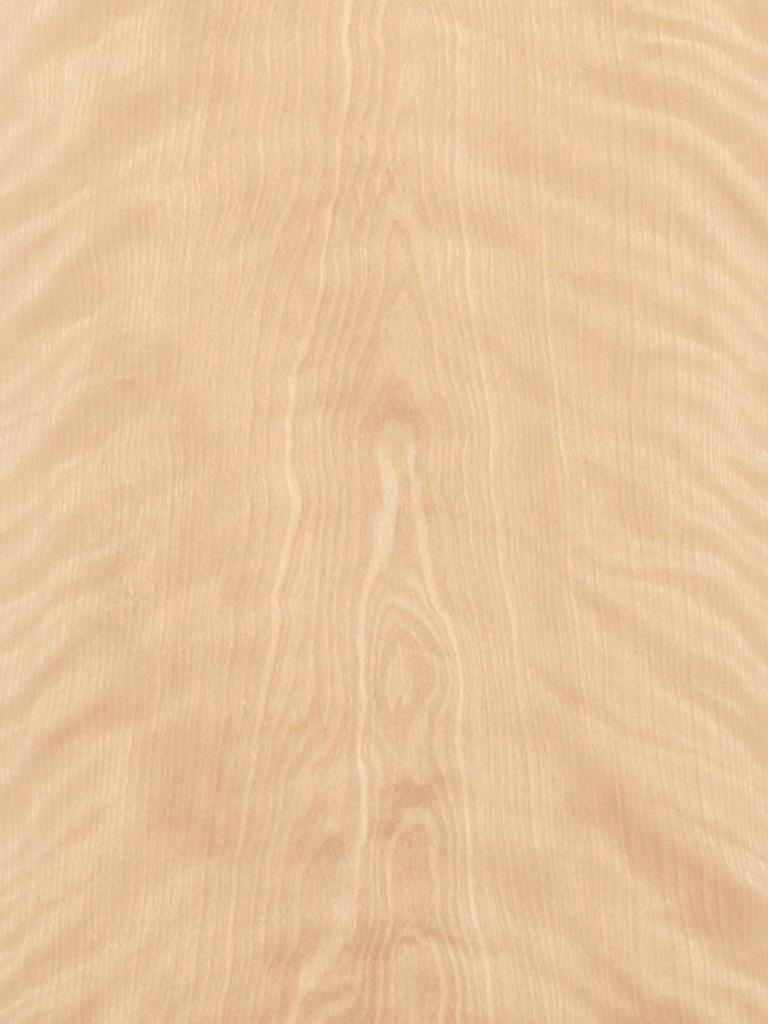 Flat Cut Figured White Birch Veneer