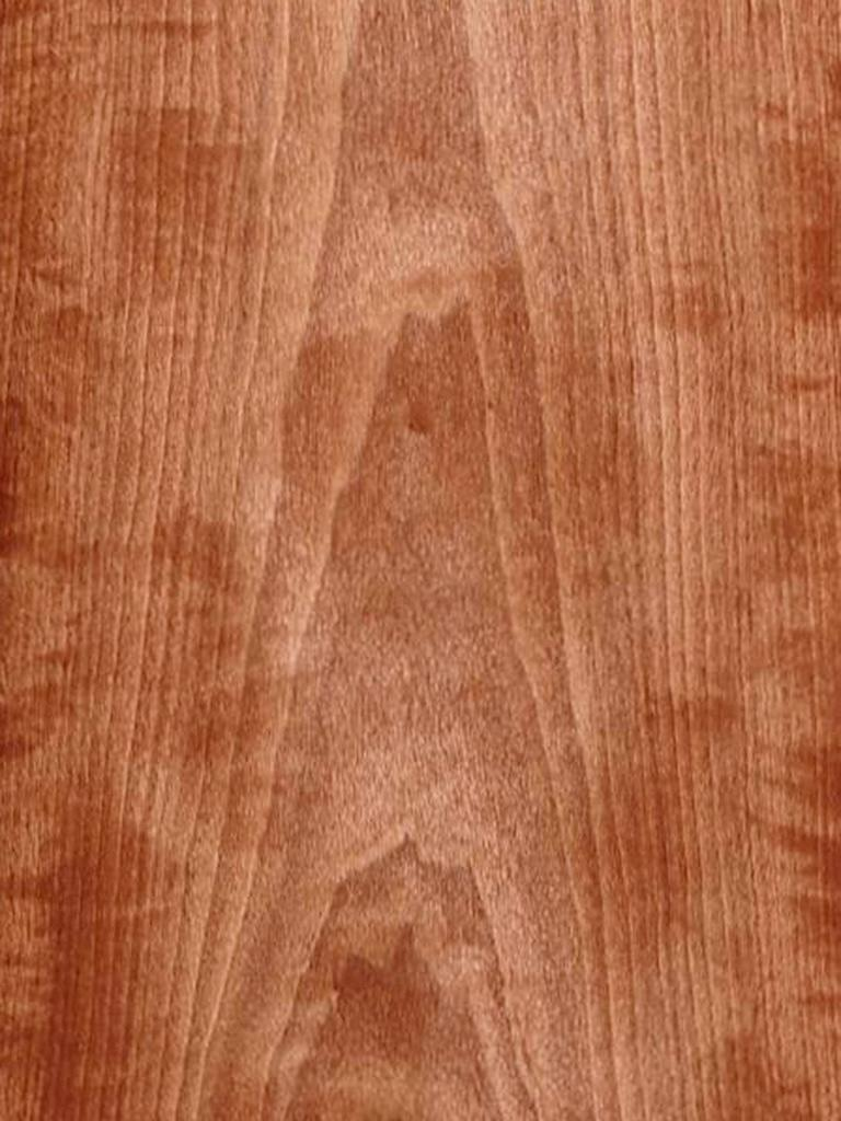 Flat Cut Figured Makore Wood Veneer