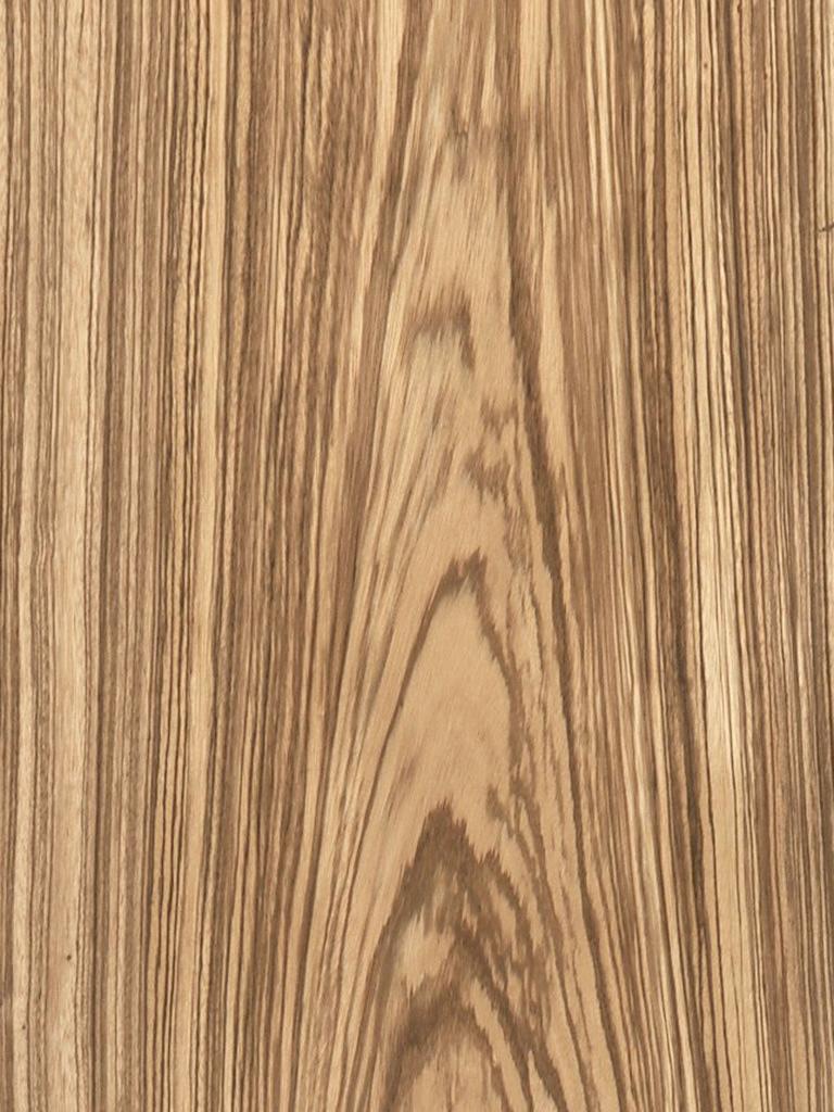Flat Cut Plain Zebrawood Veneer